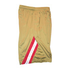 The Faithful Basketball Shorts San Francisco 49ers Pants Gym Gold Red