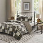 Madison Park Timber 3 Piece Reversible Printed Coverlet Set image
