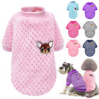 Cozy Winter XSmall Small Dog Sweater Puppy Cat Yorkie Chihuahua Clothes Jumper
