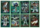 2012 Bowman Chrome GREEN REFRACTOR Parallel Single Card #70-127 Rookie RC Ref