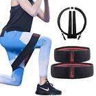 Set 2 Booty Band Circle for Workout - Hip Resistance Band Grippy.Workout Guide a