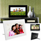 "7"" HD 16:9 Digital Photo Frame with Alarm Clock Picture MP4 Player Home Decor"