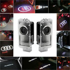 Audi Cree Led Car Door Light Projector Shadow Puddle Courtesy Laser Logo Light
