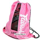 FAIRTEX BAG6 SACH BAG CARRY GLOVE CONTAINER MUAY THAI KICK BOXING MMA K1