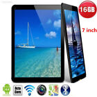 "EE6F 4E1C 7"" Android 4.4 Google Tablet PC 16GB Quad Core HD Screen Camera WiFi"