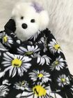 BLACK DAISEY, Fuzee Fleece Dog Blankets,Soft Pet Blanket Travel Throw Cover