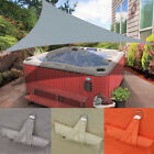 Waterproof Triangle Sun Shade Sail Canopy Patio Garden Awning Shelter With Rope
