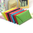 Fashion Women Envelope Wallet Long ID Card Holder Clutch Thin Purse Handbag US image