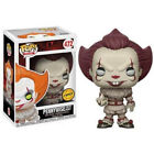 UK Funko POP Stephen Kings It Vinyl Figure Pennywise Clown Toys Xmas Gift In Box