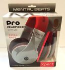 MENTAL BEATS XPERT PRO HEADPHONES WITH MIC - EXTRA BASS
