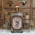 700ml 70cl Angel Tears Round / Square Apothecary Style Gin Vodka Whisky Decanter