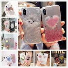 Fashion Cute Clouds Glitter Sequins Gold Foil Case Cover For iphone X 6s 7 8Plus $3.49 USD on eBay