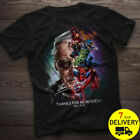 Stan Lee Superheroes Thank You For The Memories Gildan T Shirt Black Size S-3XL image