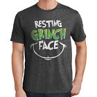 Resting Grinch Face T-Shirt Resting Bitch Face Stole Christmas 2266