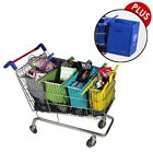 NEW Shopping Trolley Bags PLUS Xtra Bag Pastel Reusable Eco-Friendly Supermarket