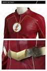 The Flash 4 Costume Barry Allen Cosplay Leather Outfits Christmas Fancy Dress