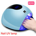 Professional LED UV Nail Dryer Gel Polish Lamp Light Curing Manicure Machine 80W