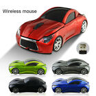 Car Shape 2.4GHz Wireless Cordless Optical Mouse Mice+USB Receiver for PC Laptop