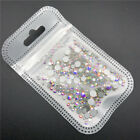 46 colors 2-5mm 400pcs Nail Art Rhinestones Crystal Gems 3D Tips DIY Decoration