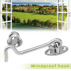Stainless Steel Cabin Hook And Eye Latch Lock Shed Home Gate Door Catch Holder