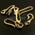 1 x Brass Belt U Hook Skull Dragon Fob clip Keychain Key Ring Wallet Chain Hook