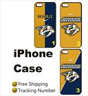 Black Case Cover For iPhone Nashville Predators ice Hockey NHL League $19.49 USD on eBay