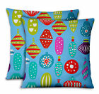 S4Sassy Ornament Decorative Cushion Cover Cases for Sofa Bed 2Pcs-XM-504C