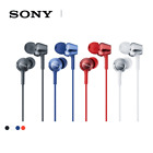 BRAND NEW SONY MDR-EX250AP Smartphone-capable In-ear Headphones Red or Blue