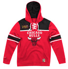 Red Chicago Bulls Mitchell & Ness NBA Basketball Fleece Hoodie on eBay