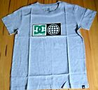 DC Shoes Boys Printed T Shirt - GREY- SIZE - 10,12,14 & 16 YEARS - NEW
