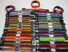 Sports NFL Football Team Paracord Bracelet - CHOOSE Your Team! on eBay