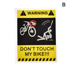1Pc Bicycle Sticker Cycling Reflective Safety 4 Type Fixed Gear Frame SP