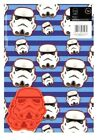Official STAR WARS Storm Troopers Gift Wrap Wrapping Sheets + Tags x 2 Birthday $3.13 USD on eBay