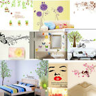 Decal Wall Sticker DIY Removable Art Mural kitchen Girls Home Room 9-modes FDA