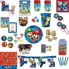 Kids SUPER MARIO BROS Tableware Cups Napkins Tablecover Plates BIRTHDAY Party