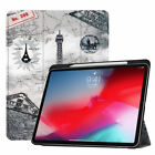 Case for Apple iPad Pro 11 12.9 Inch 3rd Gen 2018 with Apple Pen Charger Holder