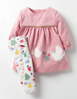 Baby boden girls dress leggings set outfit 0 3 6 9 12 18 months Christmas