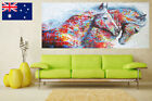 Running Horse Canvas Art Print Painting Poster Unframed Wall Picture Home Decor
