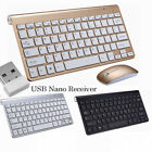 Wireless Keyboard And Mouse Combo Set 2.4G For MAC PC Windows7/8/10 IOS Slim