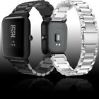 20mm Genuine Stainless Steel Wrist Band Strap For Xiaomi Huami Amazfit Bip image
