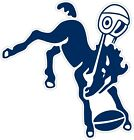 "Indianapolis Colts NFL Color Vinyl Decal Sticker - You Choose Size 2""-28"" $2.99 USD on eBay"