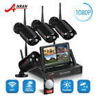 ANRAN 1080P Wireless WiFi Home Security Camera System 2TB Hard Drive Waterproof