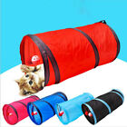 Foldable Cat Tunnel Kitten Outdoor Playing Funny Toy With Ball & Bell