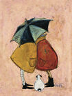 Sam Toft - A Sneaky One - Canvas Print Wall Art - 2 sizes available