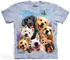 Dogs Selfie T-Shirt by The Mountain. Pet Animals Puppy Puppies Mammal Sizes S-5X image