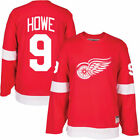 Gordie Howe Detroit Red Wings Home Away Red White CCM Vintage Jersey