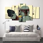 Star Wars Comics Comic 5 piece Panel Picture Print Wall Art on Canvas Poster