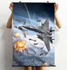 Air combat aircraft Decorative Game paintings HD Hanging painting Painting core