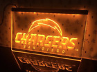 San Diego Chargers LED Sign Bar Gift Father Tailgate Party Fan NFL Super Bowl $20.89 USD on eBay