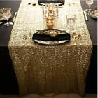 Sparkly Sequin Glamorous Tablecloth Backdrop Party Wedding Home Table Decor shan